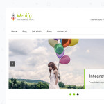 Webify – Free, Responsive, WooCommerce Ready WordPress Theme